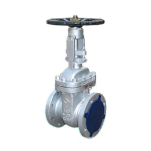 Valve 2-way, company positioning, flange
